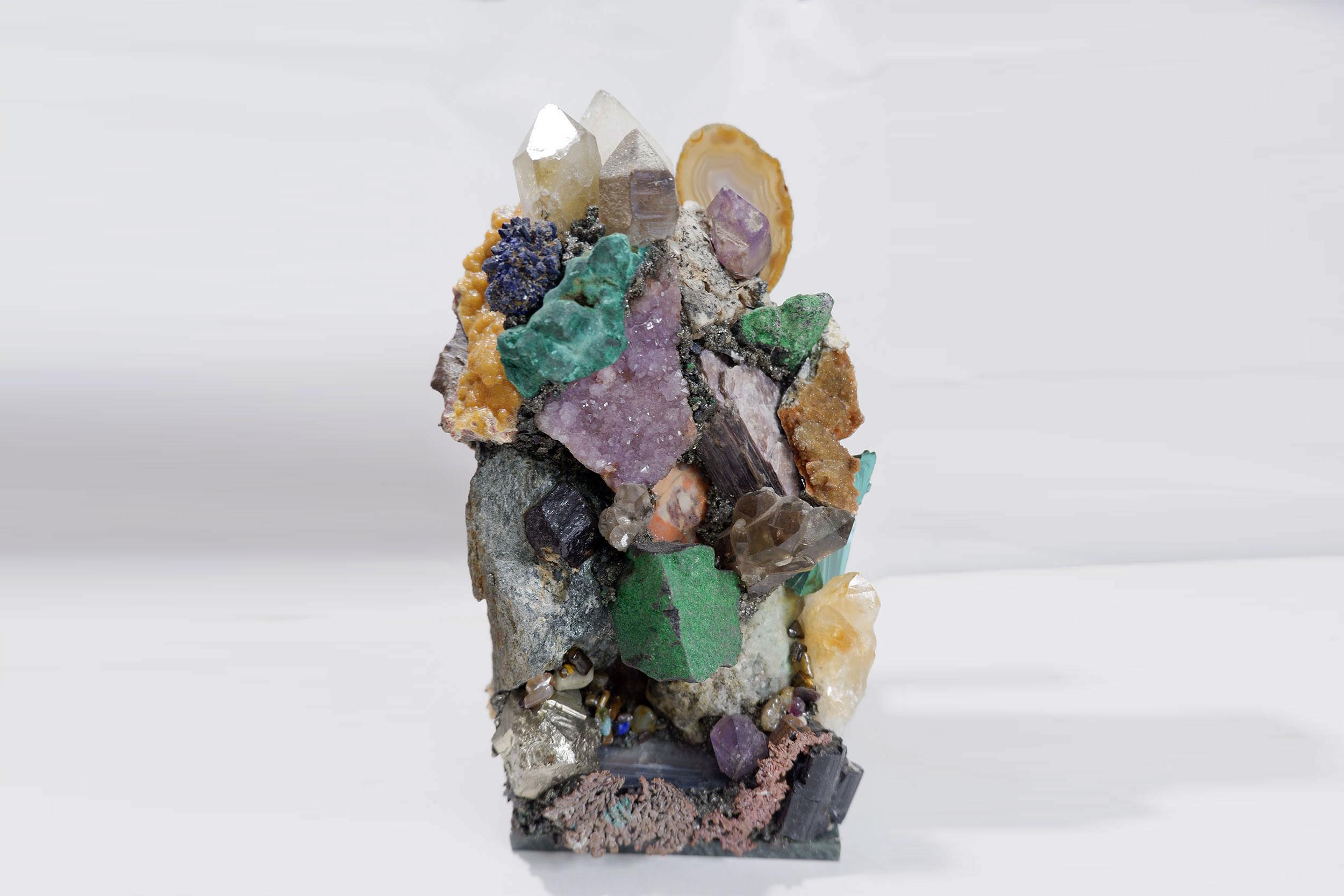 Горка минералогическая