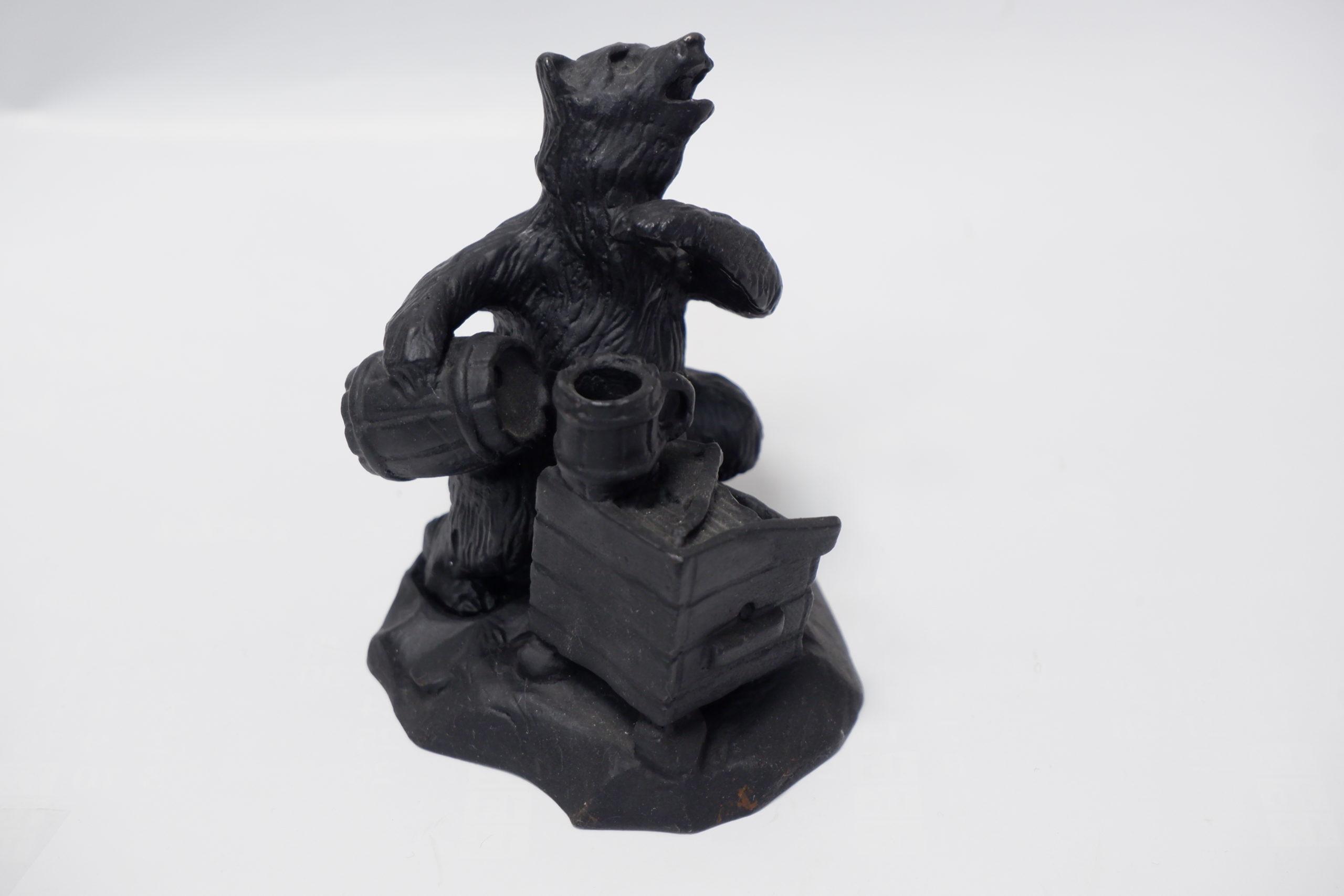 """Каслинское литье """"Медведь на пасеке"""""""