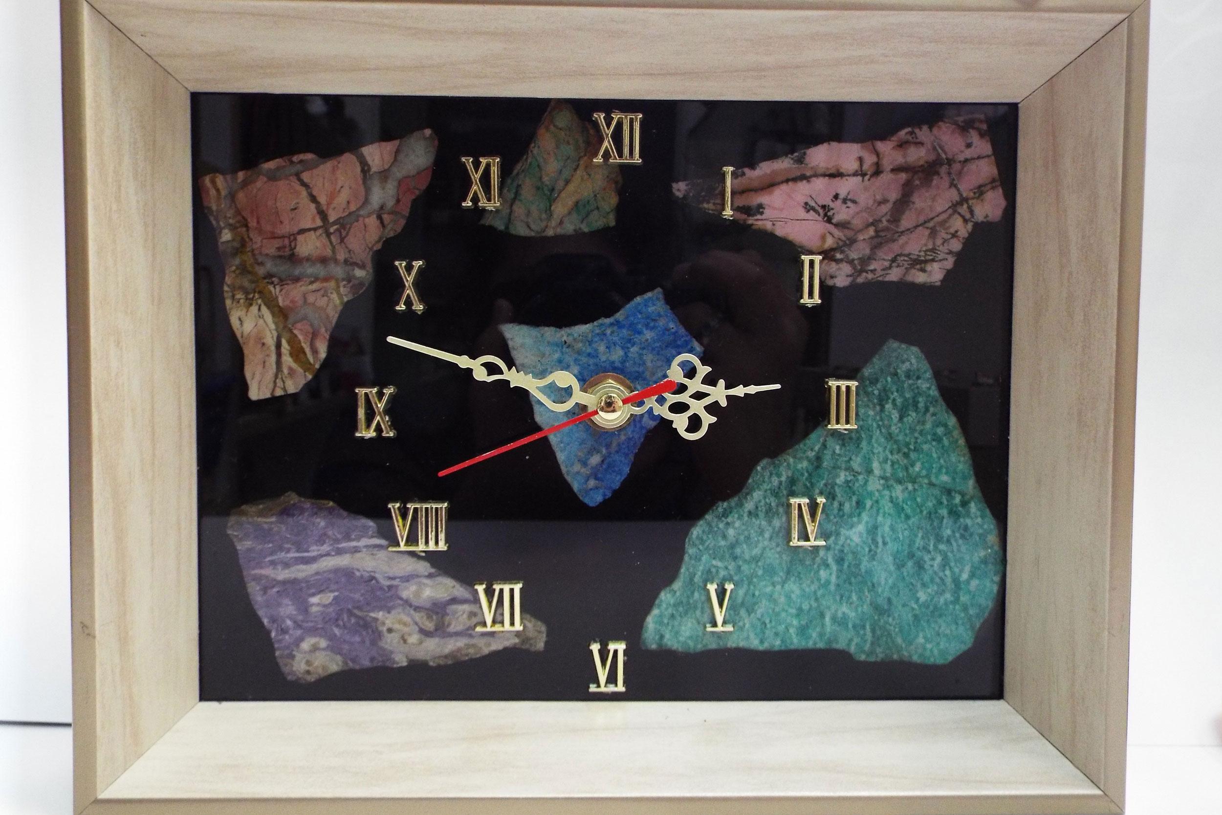 Часы мозаика, настенные