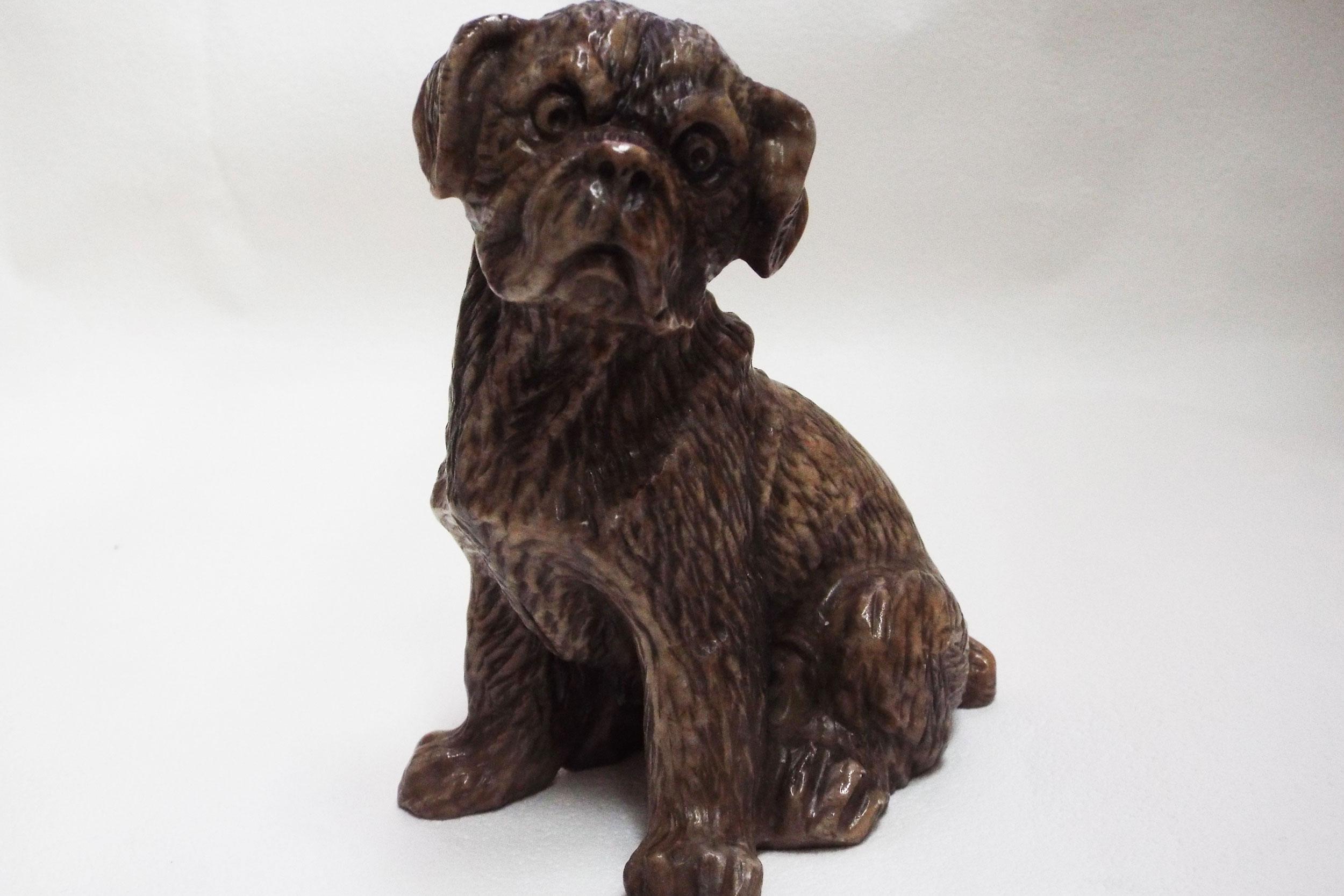 Собака из ангидрита