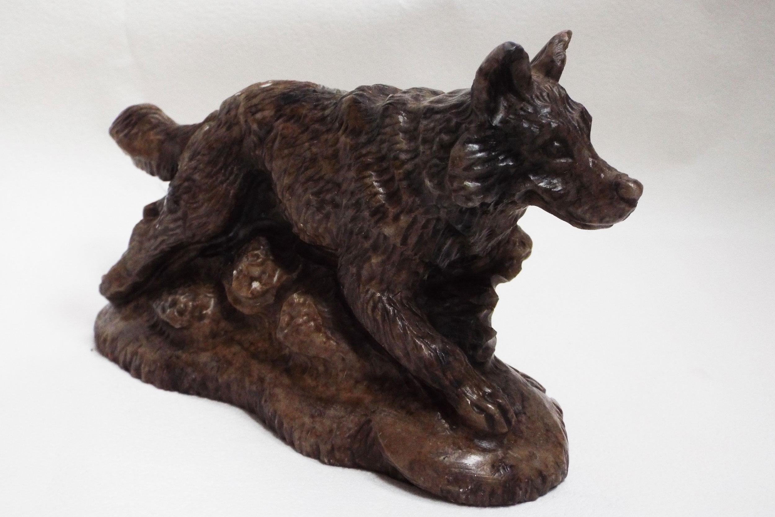 Волк из ангидрита