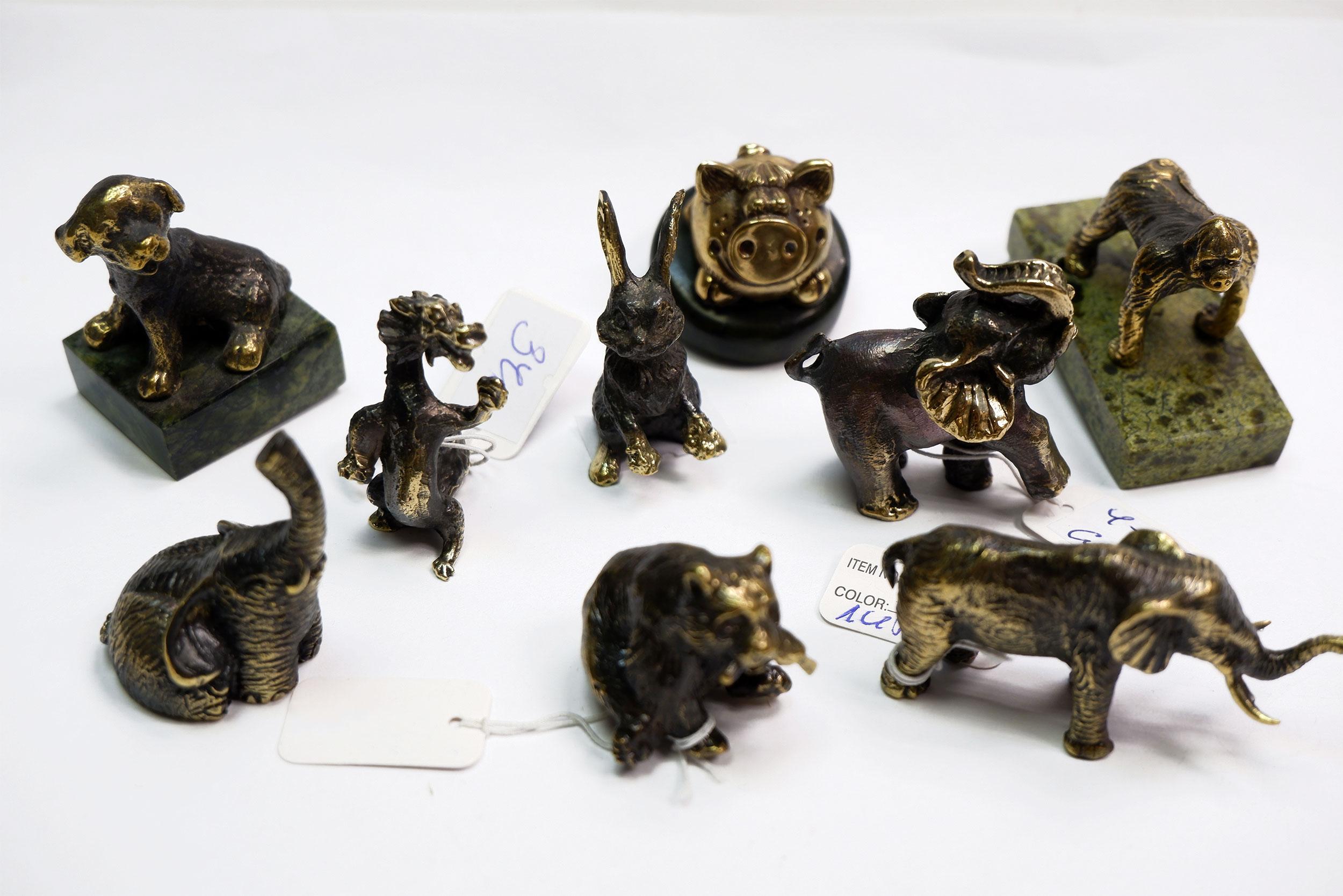Фигурки из бронзы