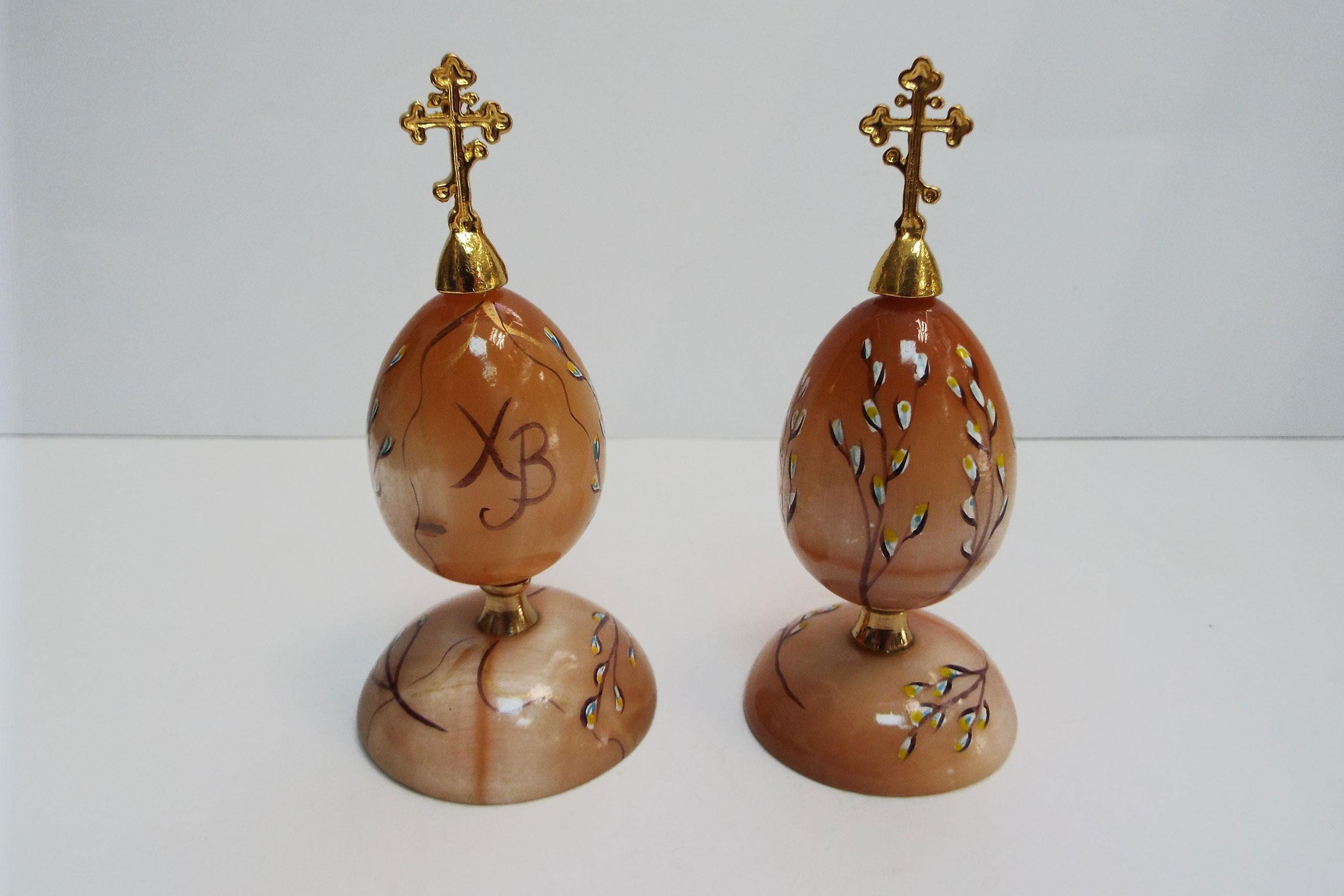 Яйцо пасхальное из селенита