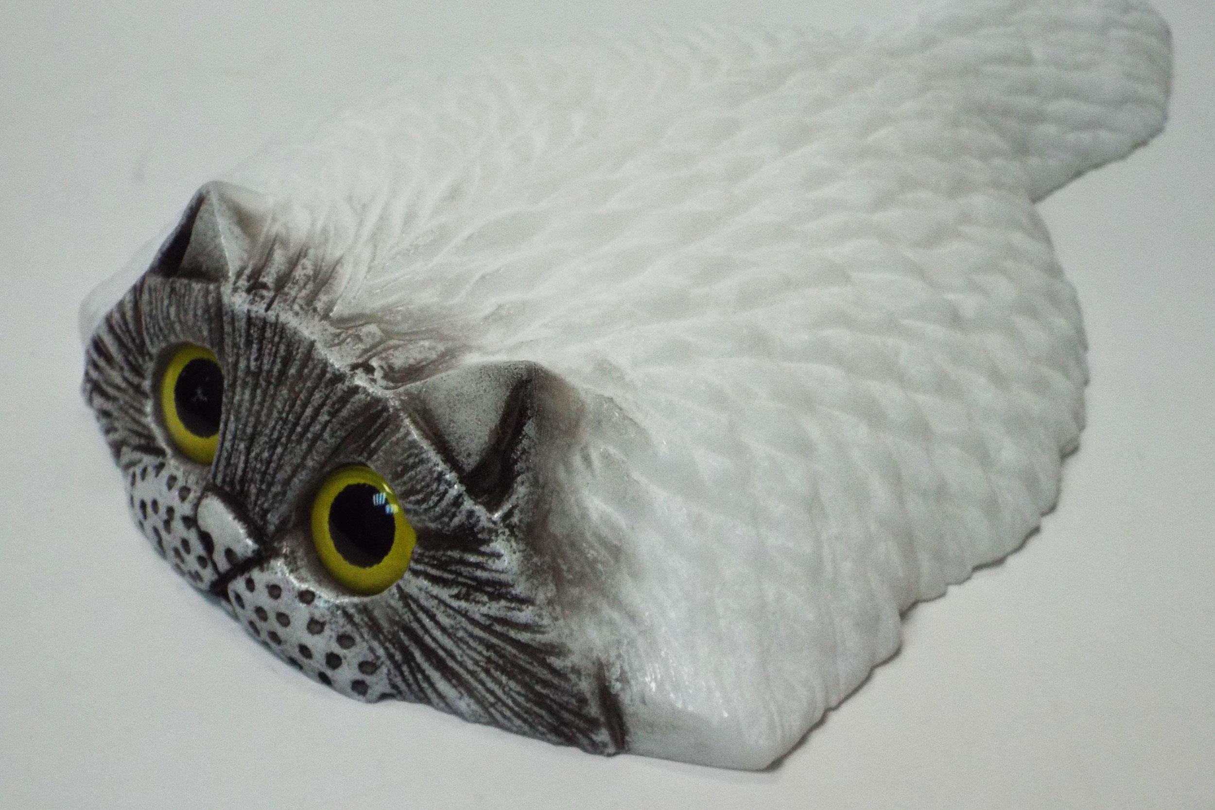 Кот из ангидрита