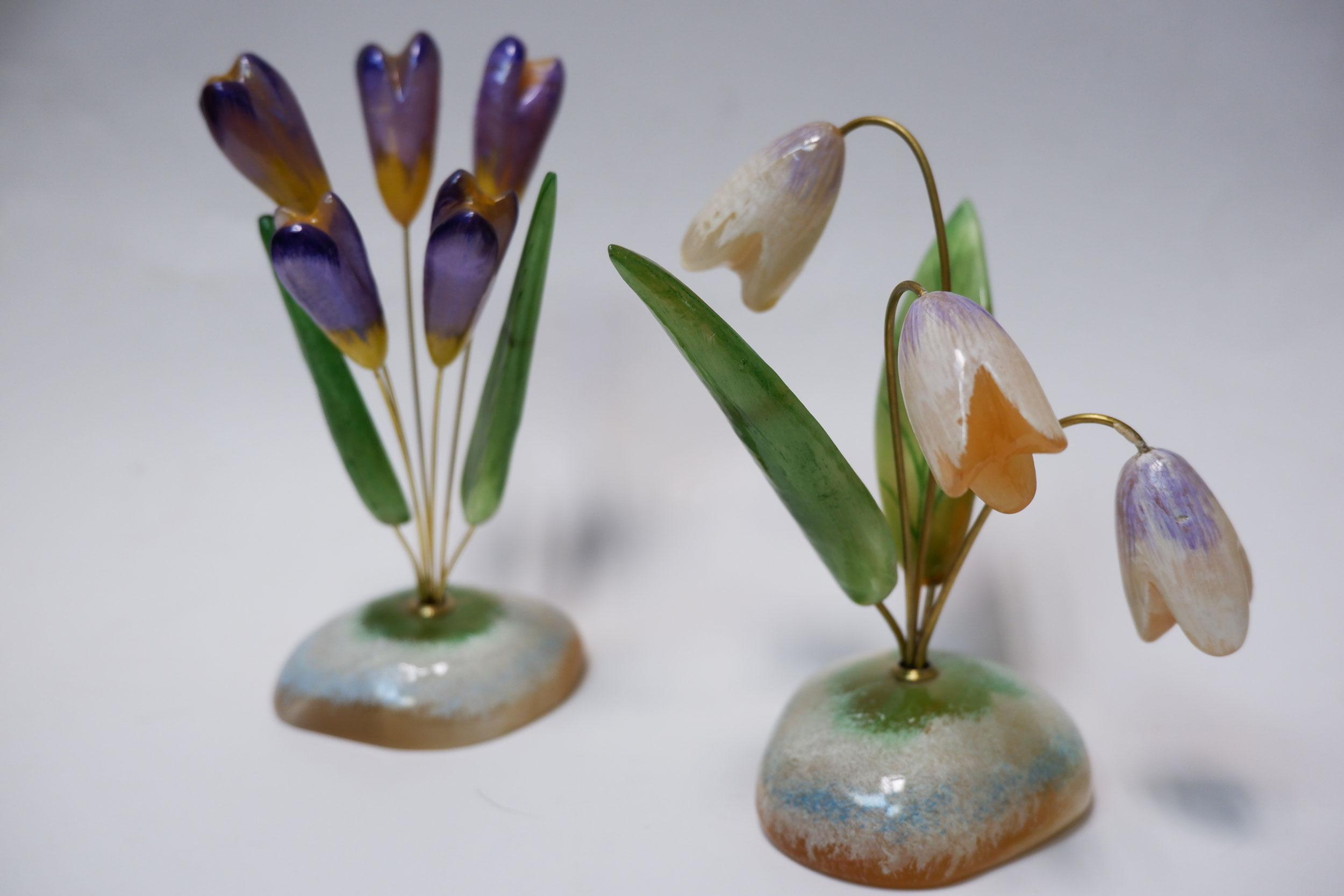 Перво-цветы из селенита