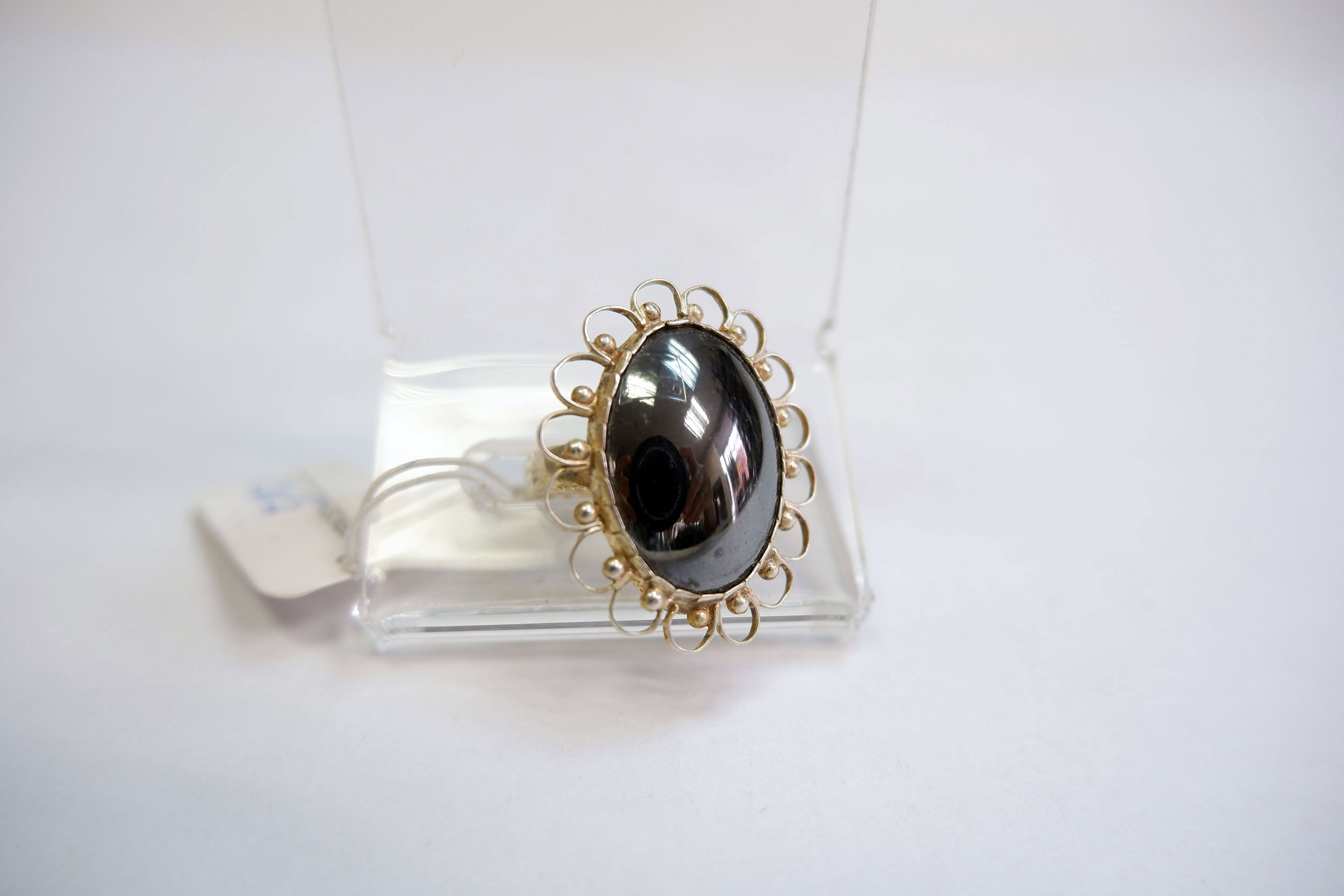 Кольцо из гематита