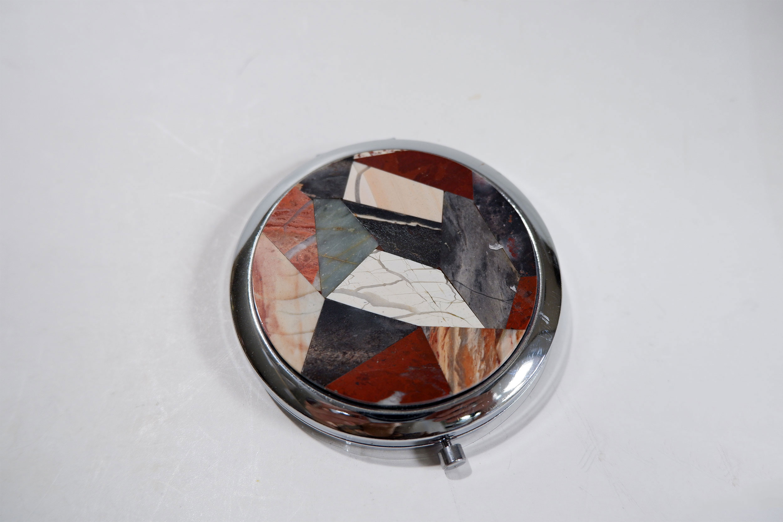 Зеркало мозаика на яшме