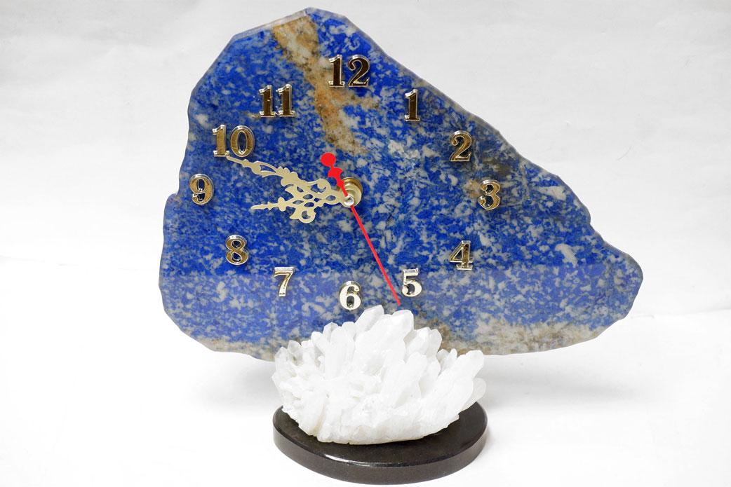 Часы из лазурита на кварце