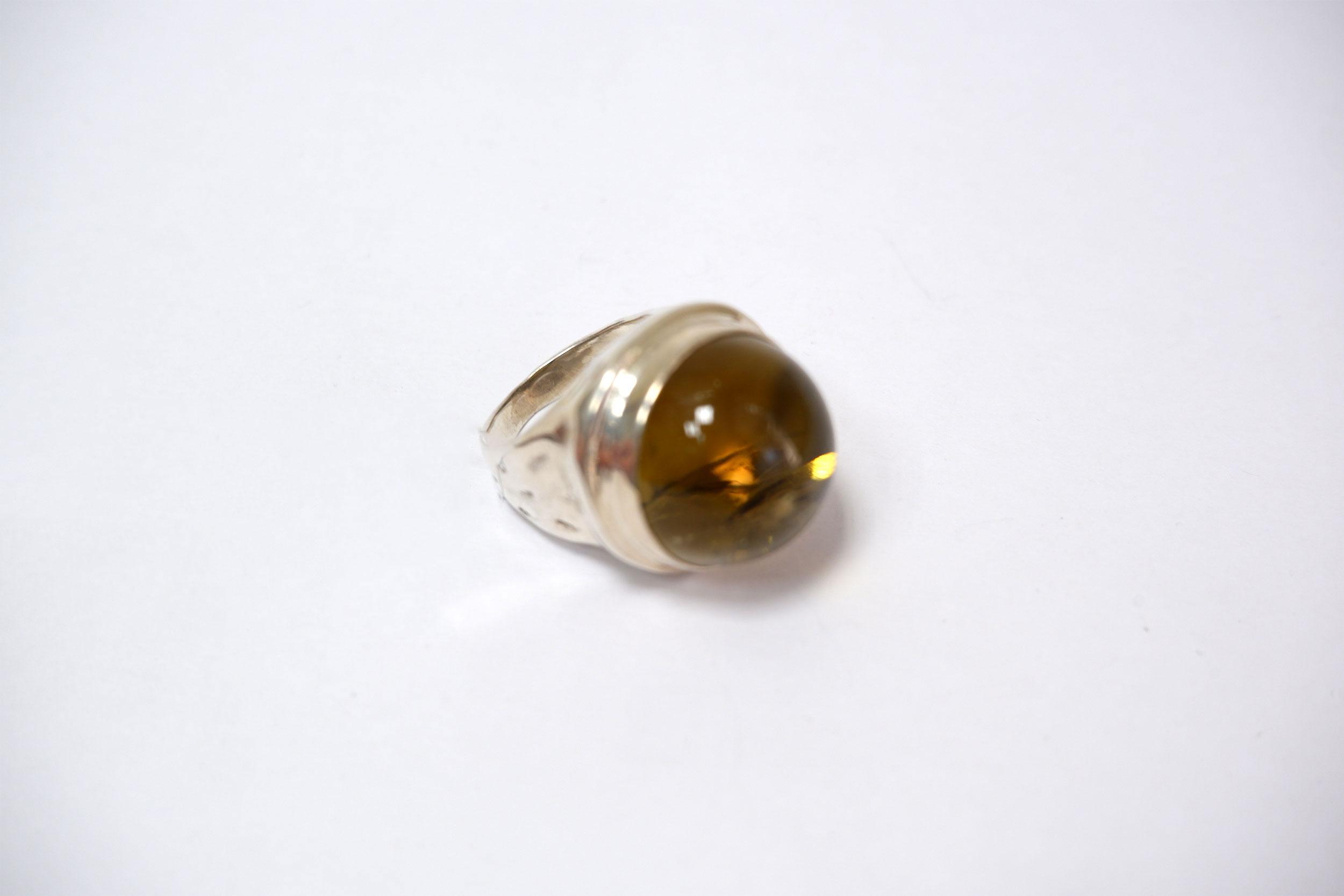 Кольцо из цитрина
