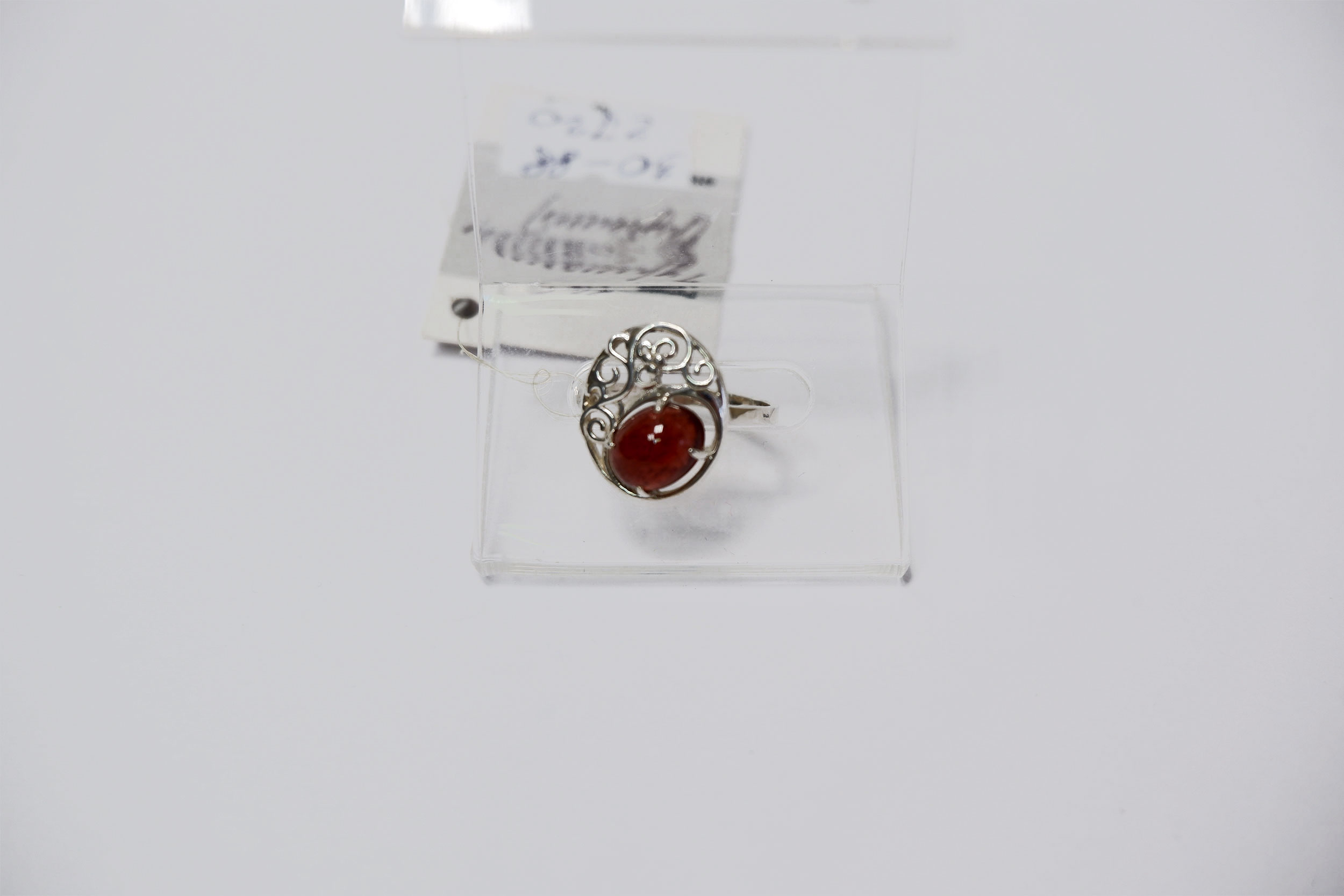 Кольцо из турмалина-рубеллита