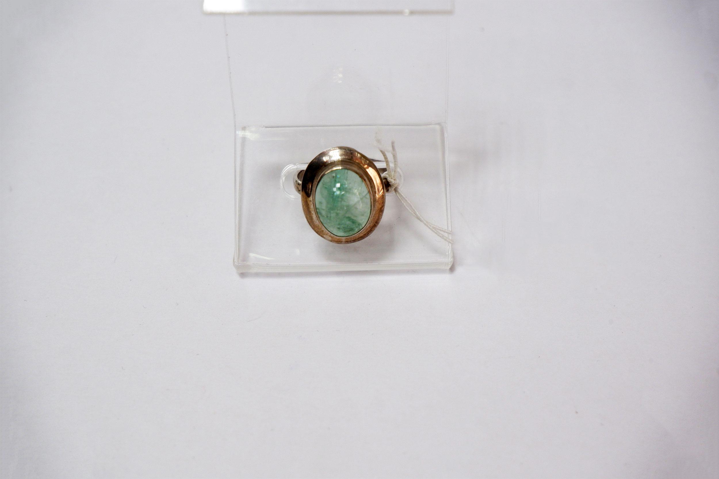 Кольцо из берилла
