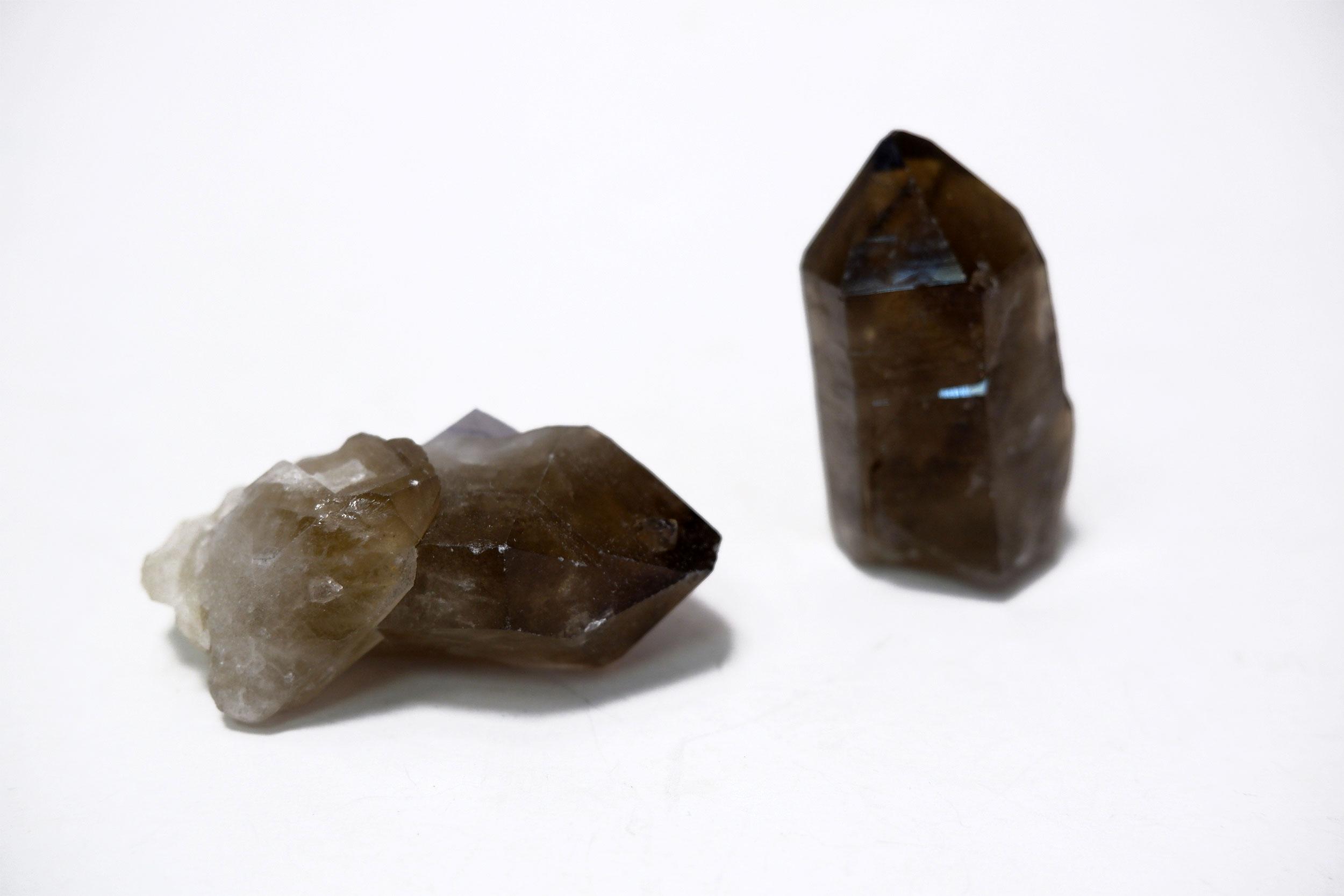 Кристалл дымчатого кварца