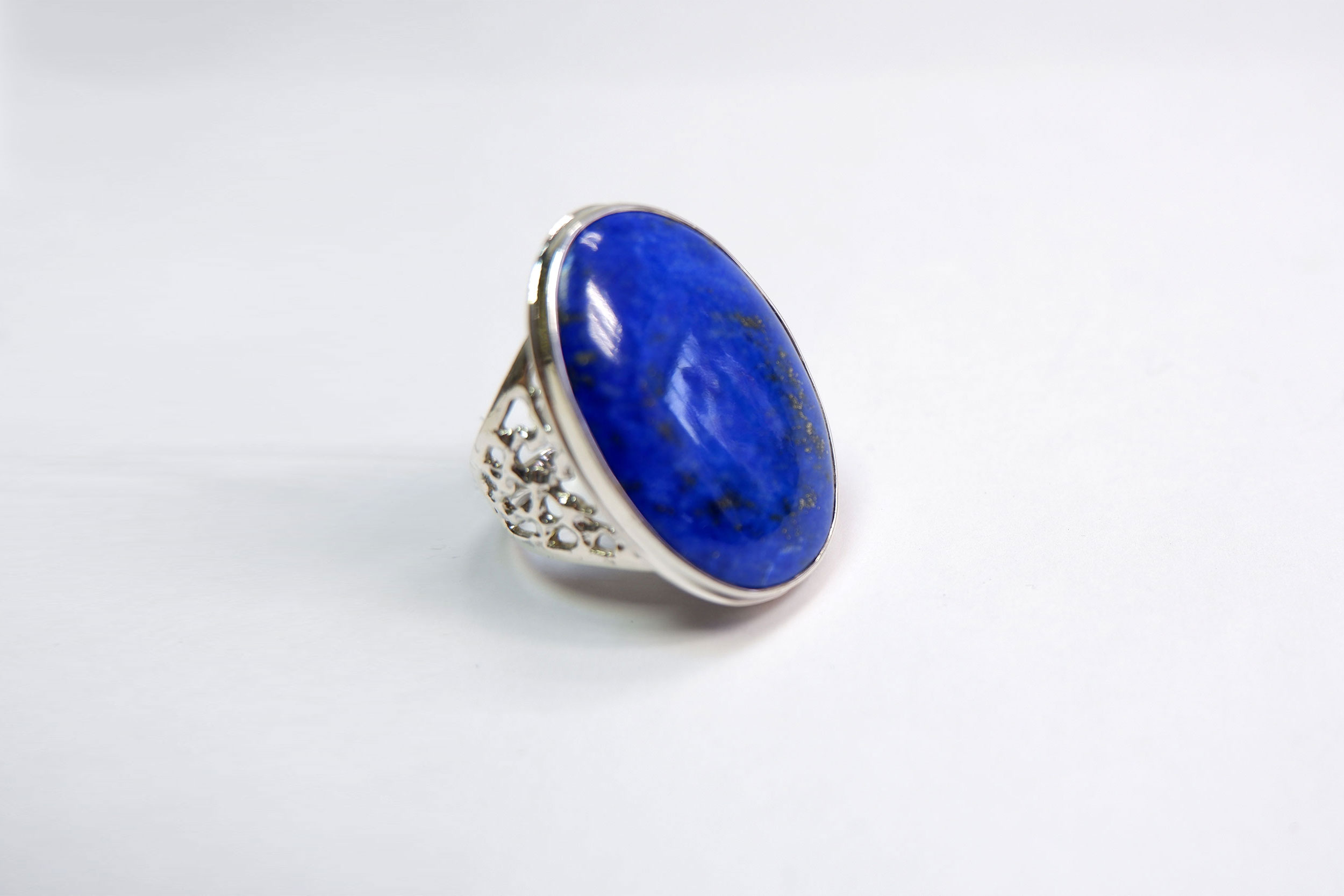 Кольцо из лазурита