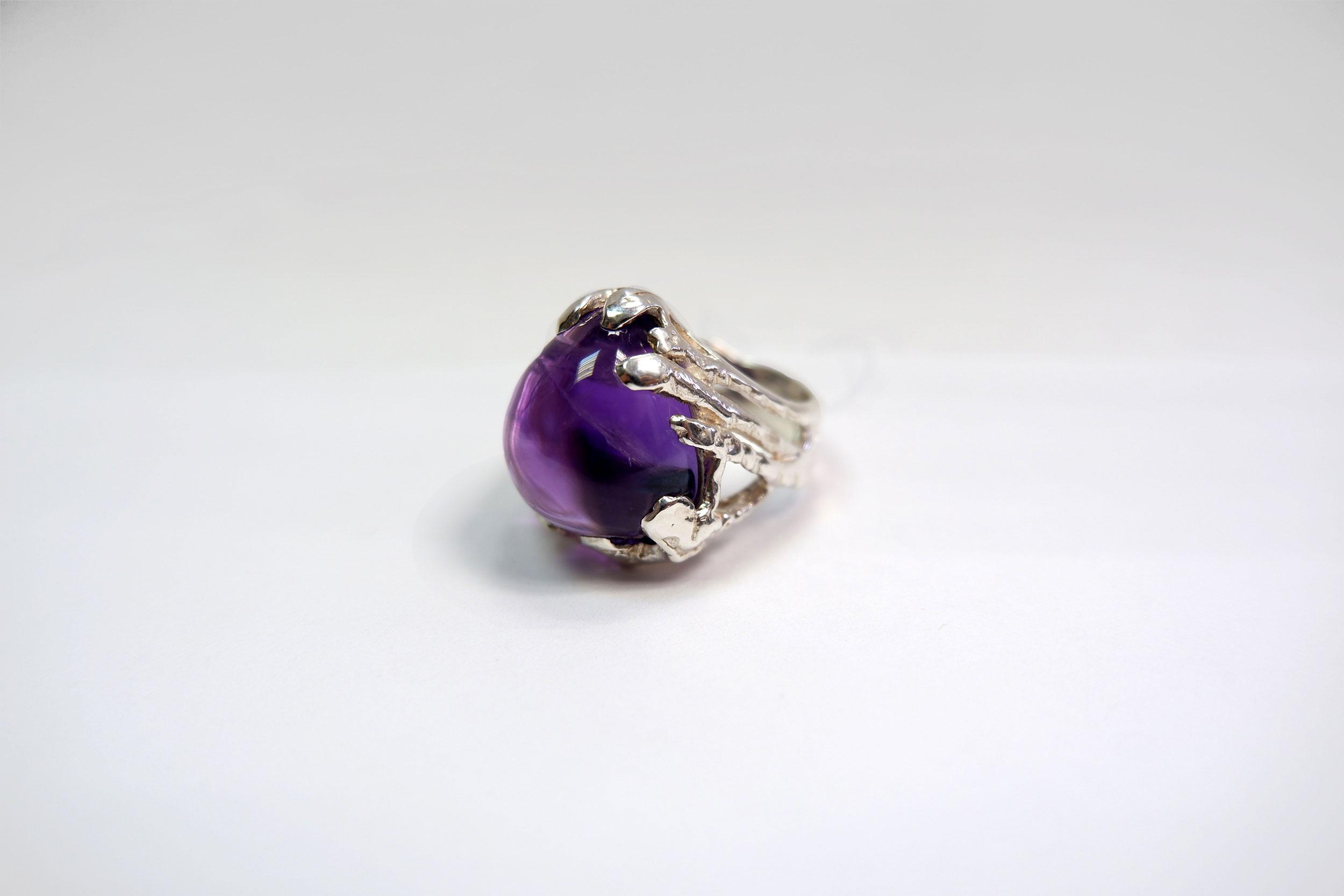 Кольцо из аметиста