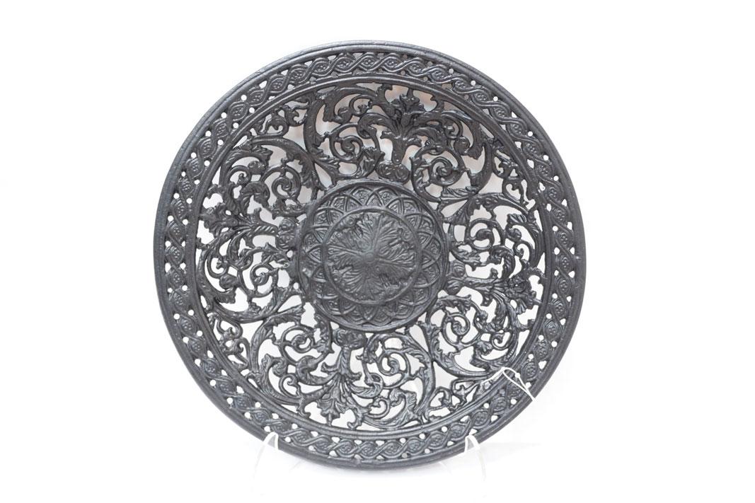 Каслинское литье тарелка ажурная