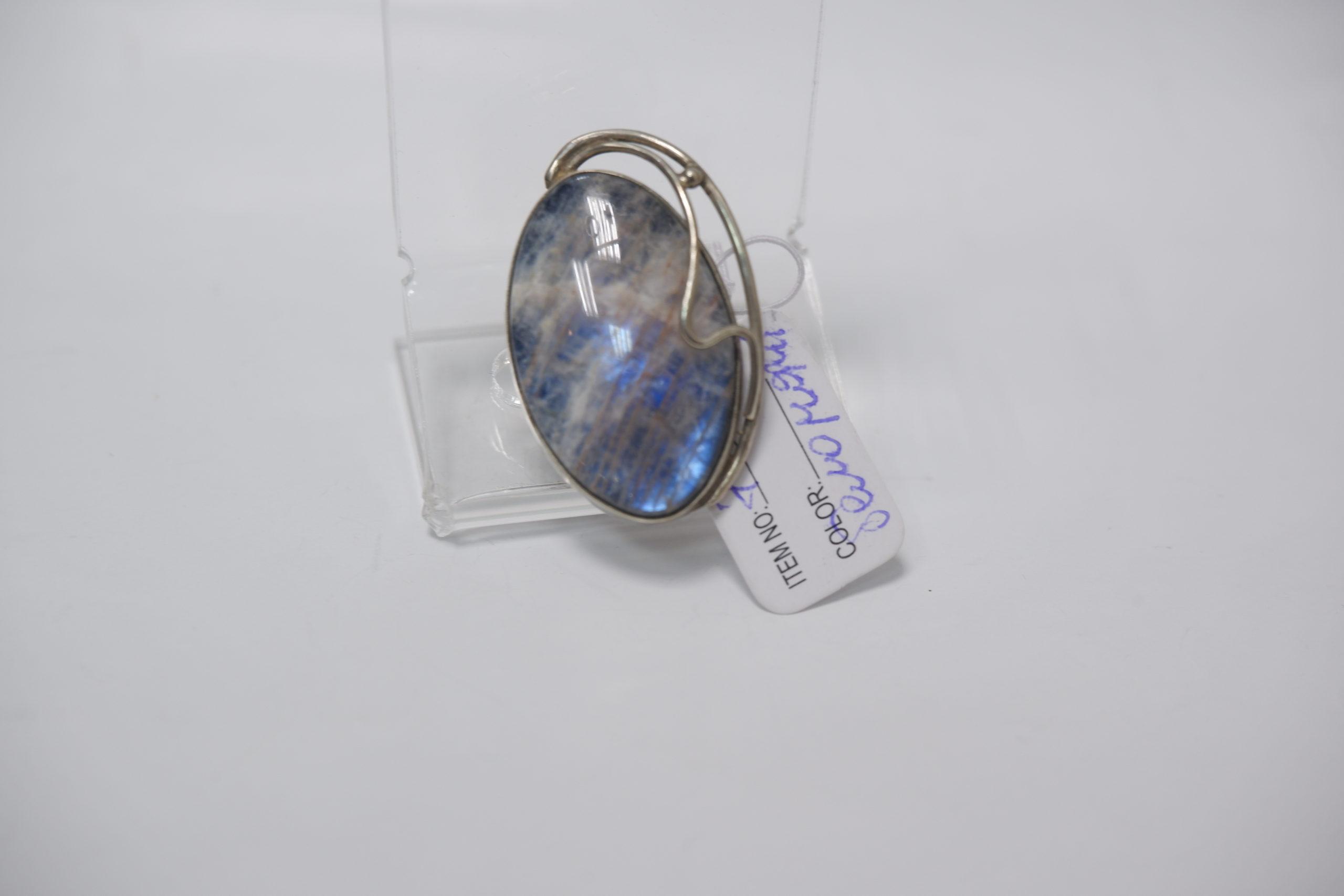 Кольцо из беломорита