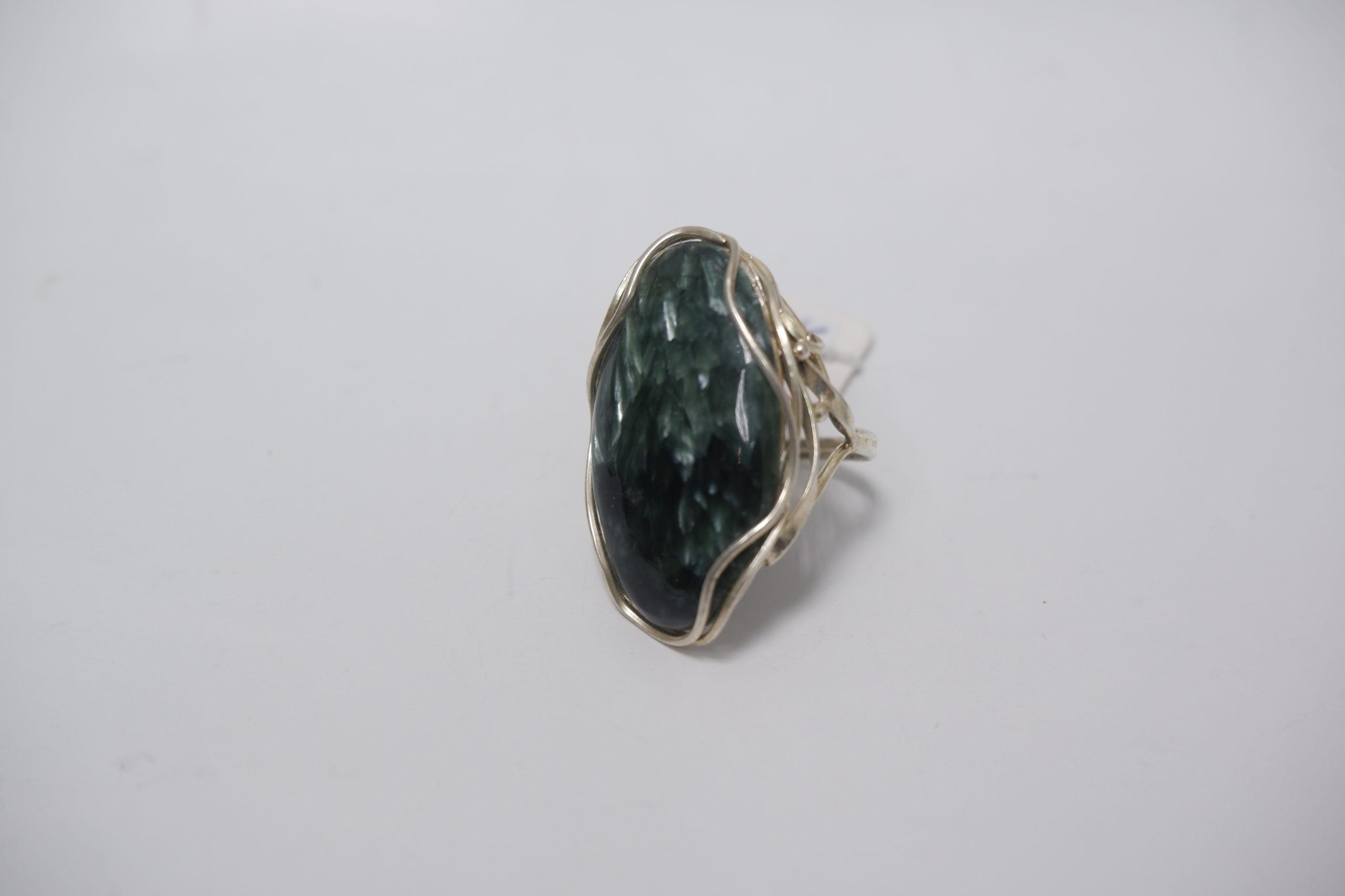 Кольцо из клинохлора