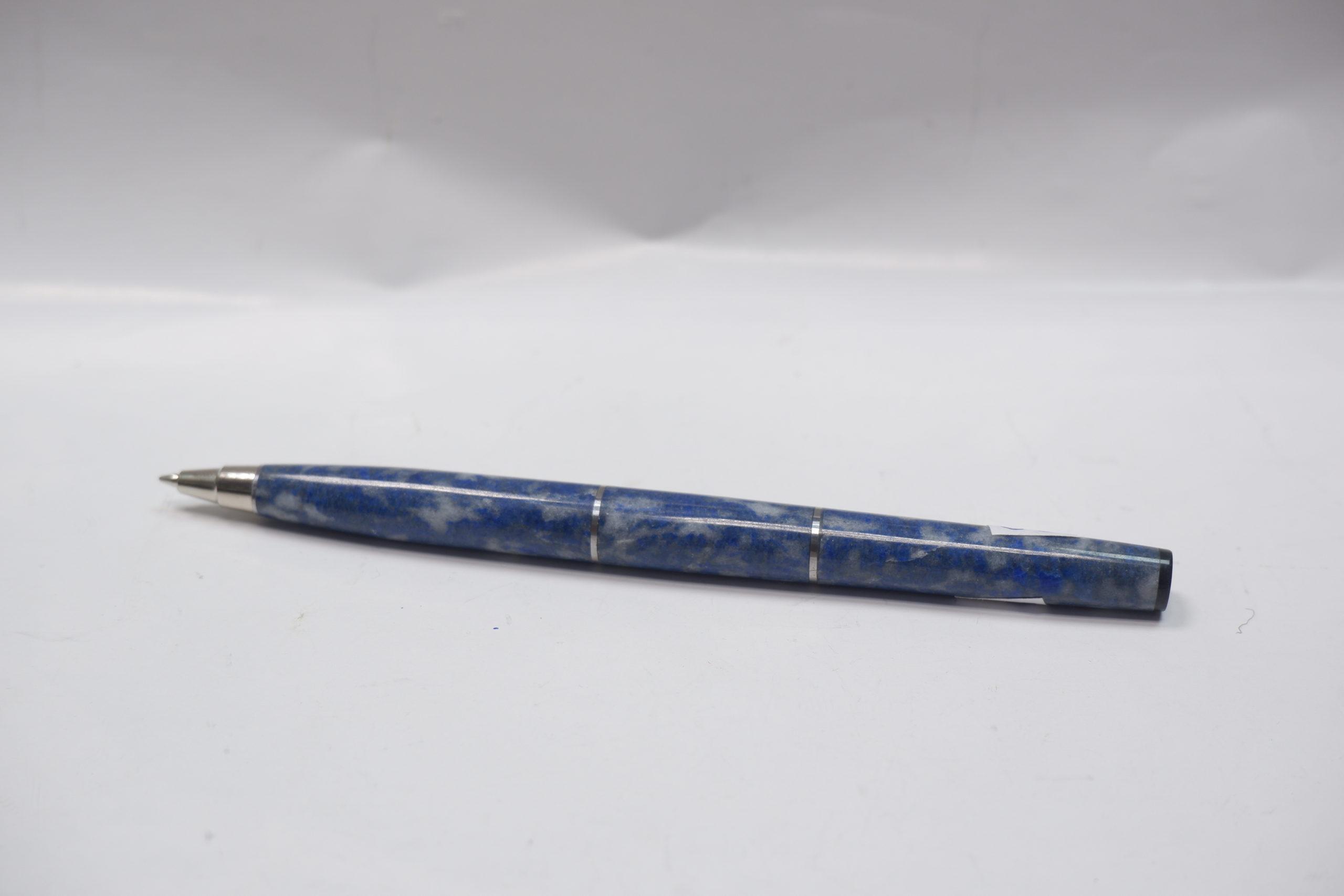 Ручка из лазурита